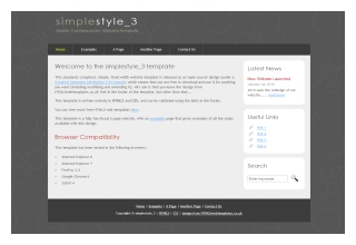 Free Download Simple Website Templates Basic Html Template